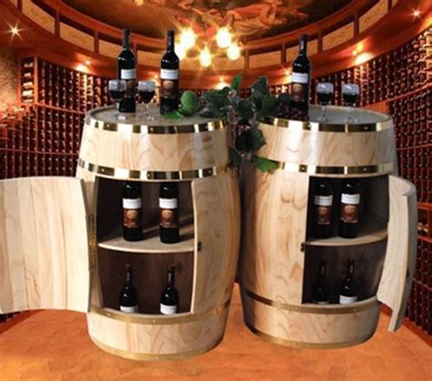 upcycling ideas  wooden barrels upcycle art