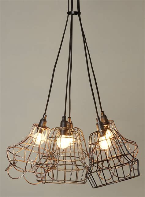 Kitchen Lights Bhs by Rex 5 Light Cage Cluster Ceiling Lights Home