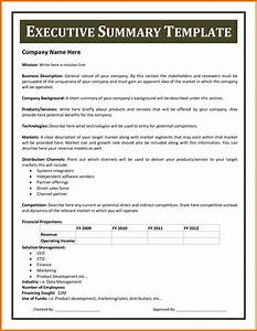 executive summary example apa format executive summary With apa format executive summary template