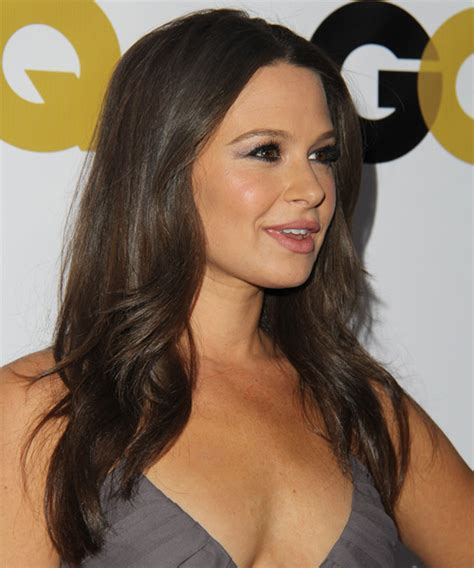 Katie Lowes Long Straight Casual Hairstyle Medium