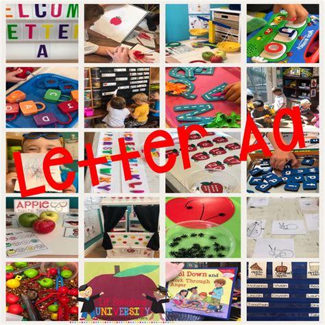 letter a preschool el dorado lil scholars preschool 777 | Letter A cover 1