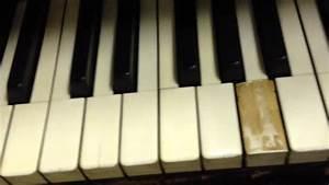 Easy Piano Key Top Ivory Repair Diy