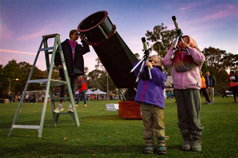 Young Astronomers The Stargazing Event Canberra