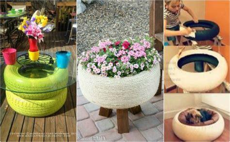 Aus Alten Reifen Basteln by 15 Perfekte Diy Garten Projekte Aus Alten Reifen