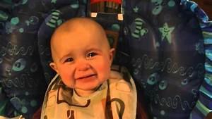 Emotional baby! Too cute! - YouTube  Emotional