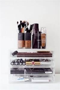 Rangement De Maquillage : rangement maquillage de 60 id es g niales copier ~ Melissatoandfro.com Idées de Décoration
