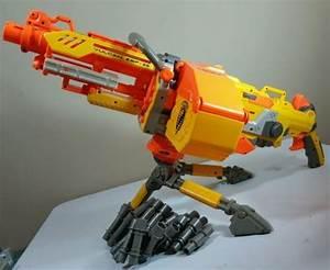 NERF Vulcan EBF-25 Blaster N-Strike machine dart gun w ...
