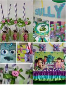 Monster Inc Birthday Party Ideas