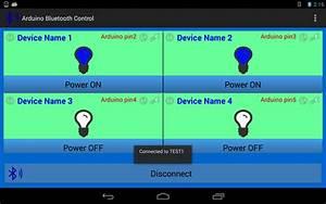 Android Arduino Control  Arduino Bluetooth Control Smart Home