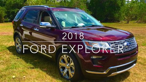 Allnew 2018 Ford Suv Lineup Youtube