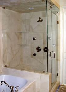 Douche Petit Espace : mod le douche l 39 italienne 74 id es pour l 39 am nager ~ Voncanada.com Idées de Décoration
