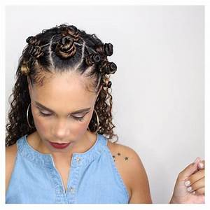 Hair How To Style Bantu Knots On Curly Hair Tiffany D