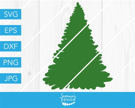 Find & download free graphic resources for christmas tree. Christmas Tree SVG DXF EPS JPG Cut File Cricut Silhouette ...