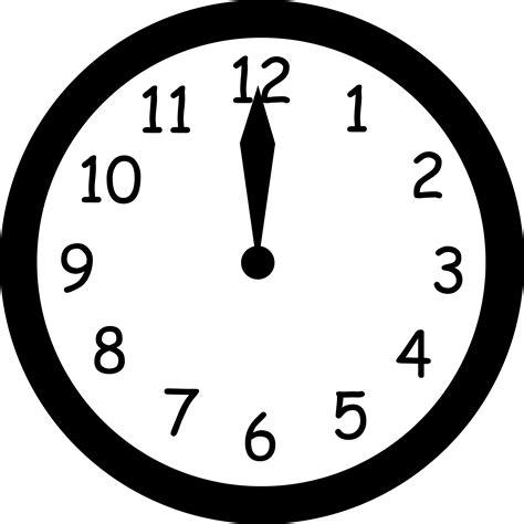 Clipart Clock Noon Clipart Clipart Panda Free Clipart Images