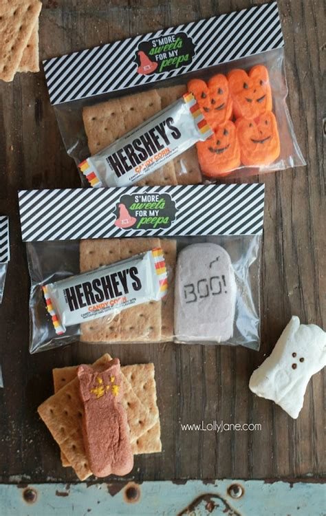 smores craft ideas s mores treats with free printable bag toppers 2952
