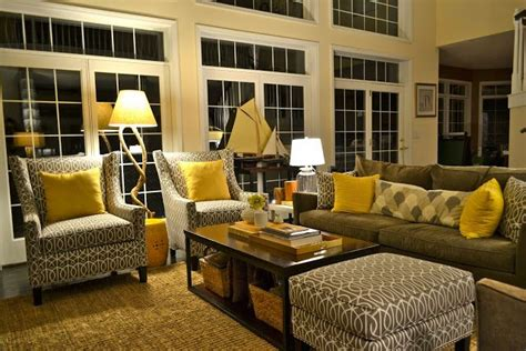 Yellow Grey Living Room Images by Grey And Yellow Living Room This This Is What I