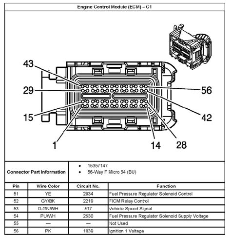 2007 Avalanche Tcm Wiring Diagram by Lly Ecm Pinout Chevy And Gmc Duramax Diesel Forum