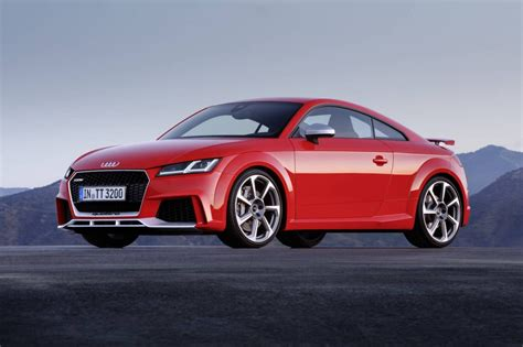 Audi Tt Rs by 2017 Audi Tt Rs Revealed Most Powerful With New 2 5t