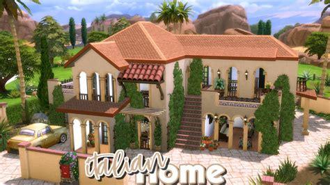 sims  speed build italian house build battle