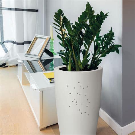vasi alti da interno vaso di design con finitura opaca e cristalli swarovski
