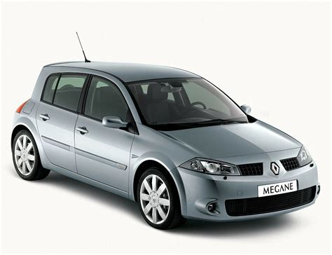 Renault Megane Car Technical Data Car Specifications