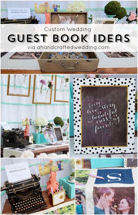 diy creative unique wedding guest book ideas marina