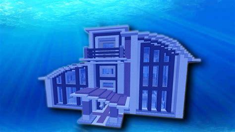 underwater minecraft base design episode  youtube