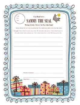 i can read sammy the seal worksheets by tpt