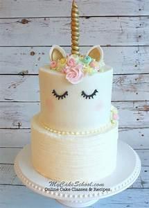 Unicorn Cake- A Cake Decorating Video Tutorial My Cake