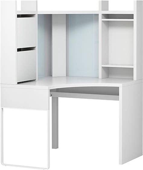 Corner Computer Desk With Hutch Ikea by Micke Corner Workstation Scandinavian Desks And