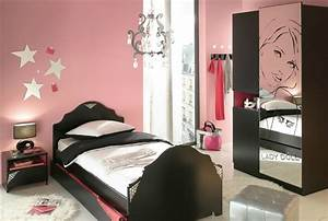 chambre fille conforama photo 6 10 lit 90 cm armoire With chambre de fille conforama