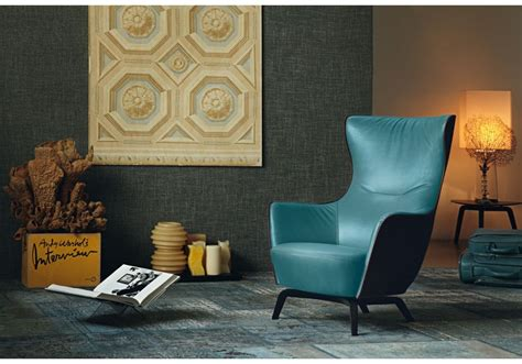 Poltrona Design Italiano : Frau -mamy-blue-armchair -il Design Italiano