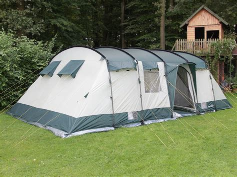 tente 6 places 2 chambres skandika hurricane 12 person xl cing tunnel family