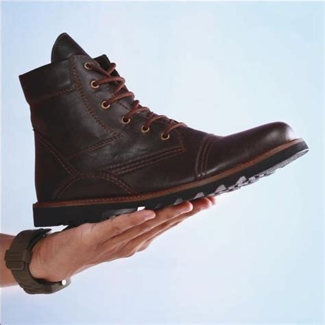jual sepatu boots kulit vintage casual tragen heroic di