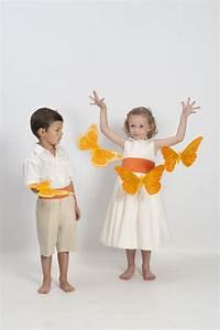 Tenue Garçon D Honneur Mariage : robe de mariage enfant en coton avec ceinture orange pour le gar on d 39 honneur bermuda et ~ Dallasstarsshop.com Idées de Décoration