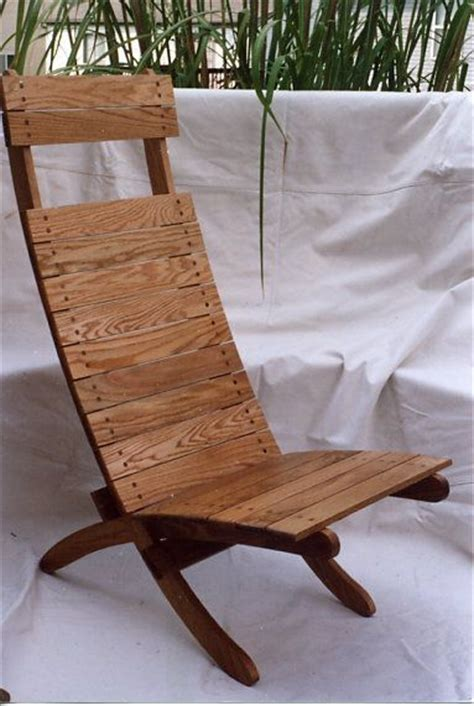 scissor camp chair handmade chair