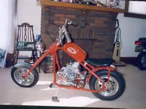 Custom Chopper Mini Bikes