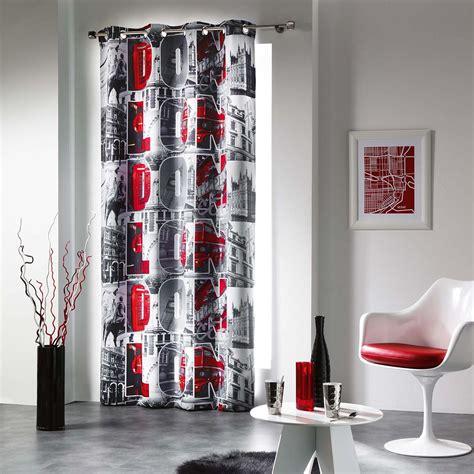 rideau chambre garcon rideau occultant à oeillet impression uk les douces
