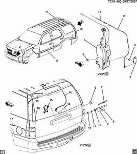 Whinshield 06 Chevy Tahoe Parts Diagram  Wire  Auto Wiring