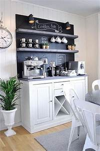 9, Genius, Coffee, Bar, Ideas, For, The, Kitchen