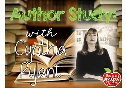 Rylant Cynthia Author Study Theappliciousteacher Thought Pop