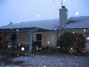Perris, CA : Weird weather! Snow in Perris 11/2004 photo ...