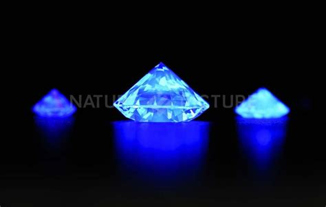 diamonds under uv light jewelry