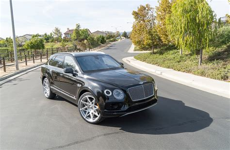 bentley custom rims rapper ready bentley bentayga poses on 24 quot custom wheels