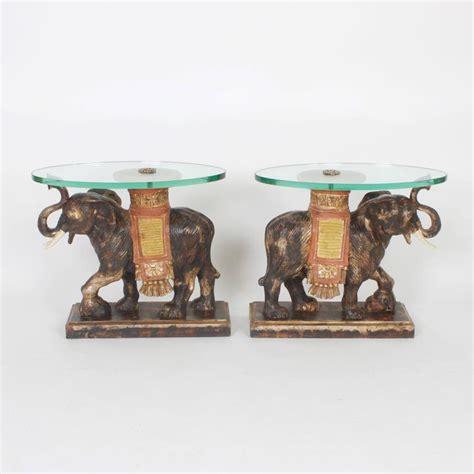elephant tables for sale modern rustic italian mid century elephant end tables for