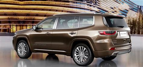 Jeep Grand Future Models by Beijing Show Jeep S Grand Commander No Go For Aus Goauto
