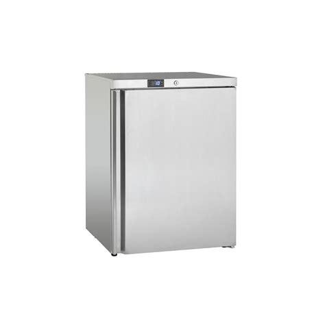 petit frigo de chambre mini congélateur surgélateur en inox à poser avec une