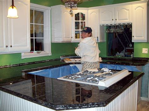 paint glitter epoxy to redo formica countertops to look
