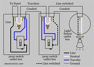 Basic Electrical Wiring Diagrams Two Light