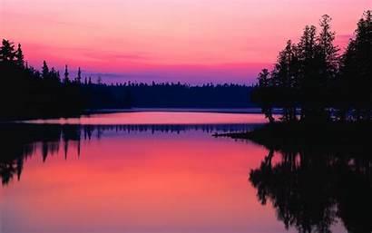 Sunset Lake Wallpapers Reflection 10wallpaper Landscape Resolution
